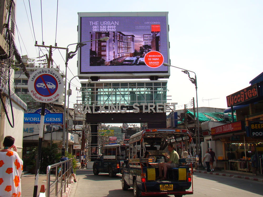 Taxi Airport Pattaya | Walking Street