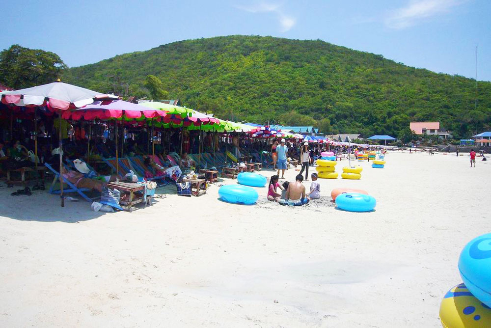 taxi airport to Pattaya Koh Larn Beach